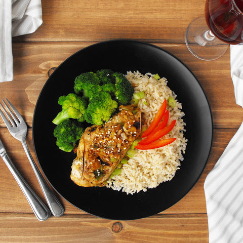 Clean and Green: Ginger Chicken with Broccoli and Tamari Rice