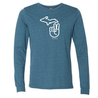 """It's A Michigan Thing"" Men's Long Sleeve T-Shirt"
