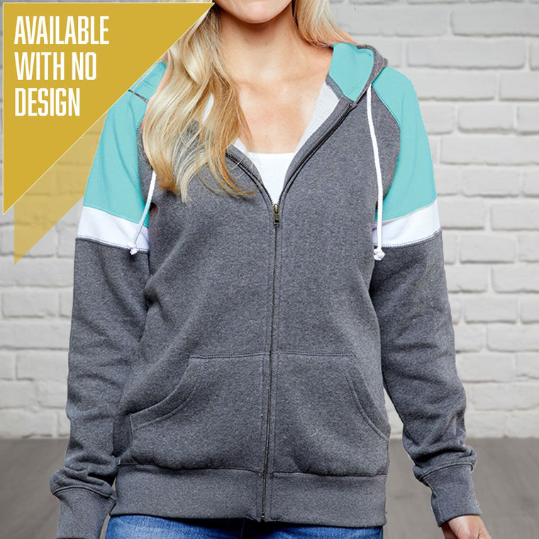 """Livn Simply"" Women's Heavy Full Zip Varsity"