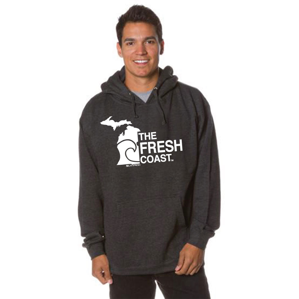 Michigan Fresh Coast Mens Basic Hoodie