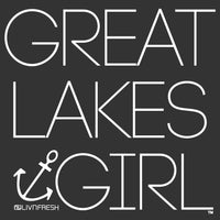 """Great Lakes Girl"" Cork Flat Bill Hat"