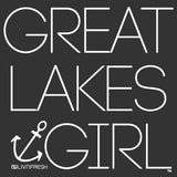 Great Lakes Girl Women's Varsity Fleece Crew Sweatshirt