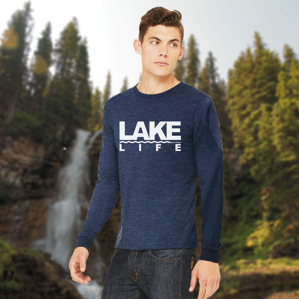 Coast to Coast Lake Life Mens Long Sleeve T-Shirt