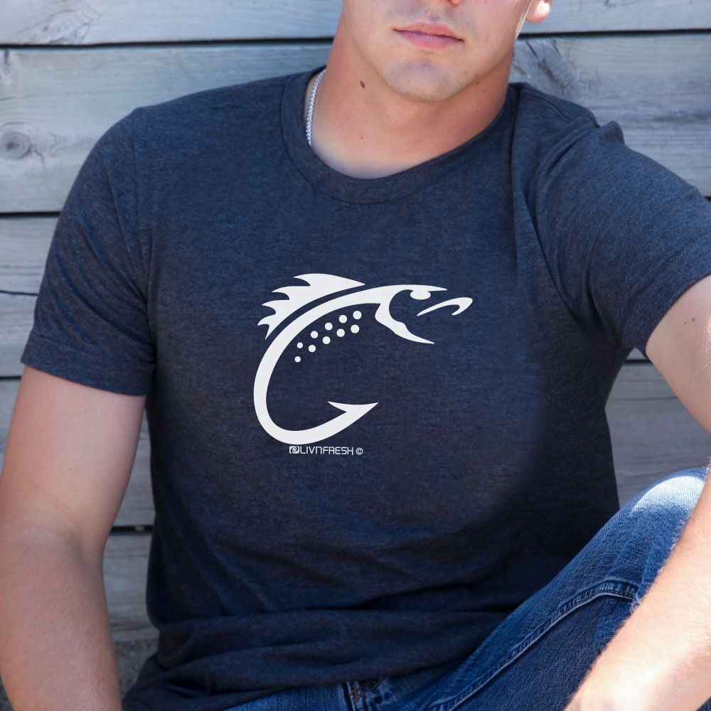 Coast to Coast Fish Hook Men's Crew T-Shirt