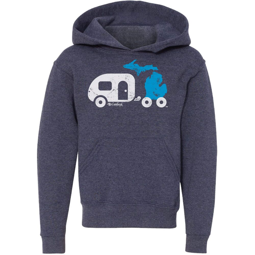"""Michigan Camper"" Youth Hoodie"