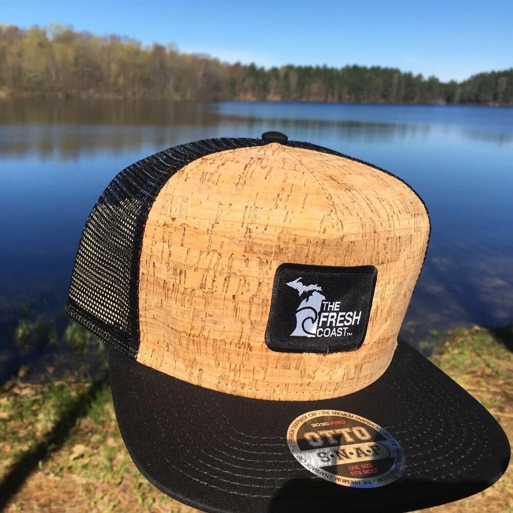 Michigan Fresh Coast  Cork Flat Bill Hat