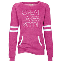Great Lakes Girl Varsity Fleece Crew Sweatshirt