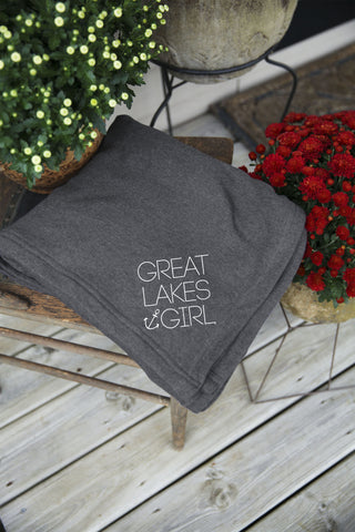 Great Lakes Girl Full Size Blanket
