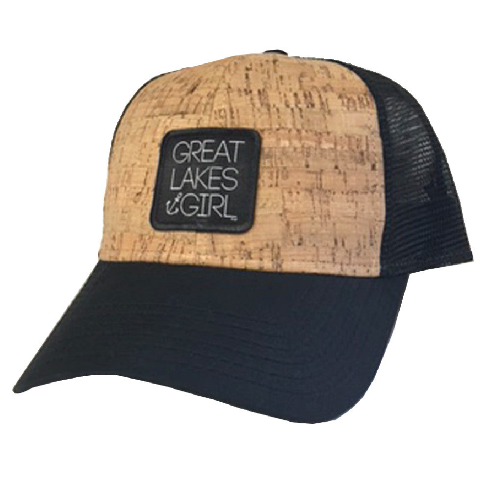 Great Lakes Girl Cork Baseball Cap