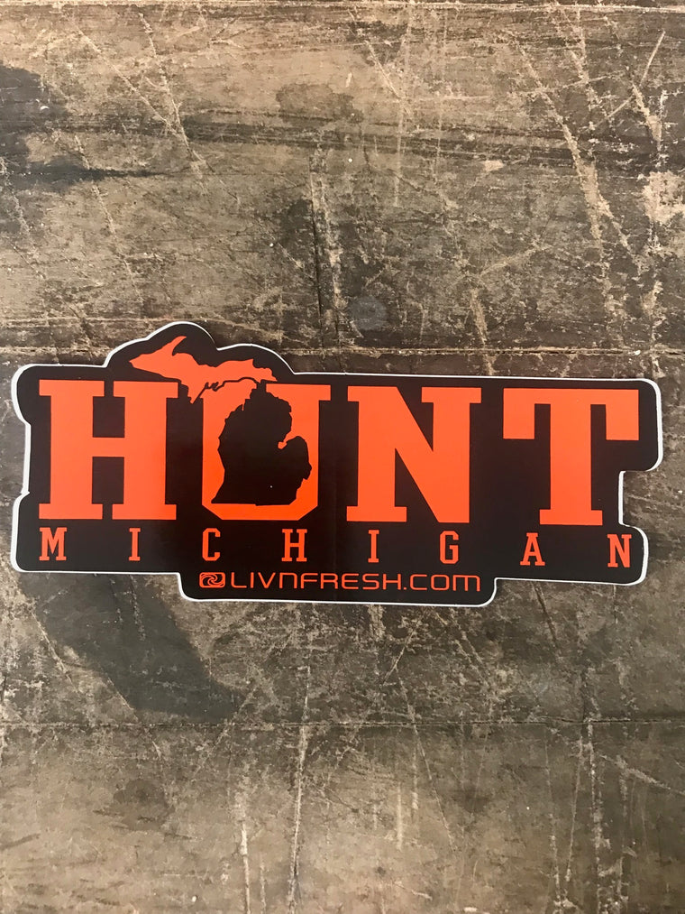 Michigan Hunt Decal