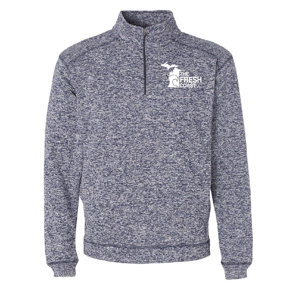 Michigan Fresh Coast Men's 1/4 Zip Performance Pullover