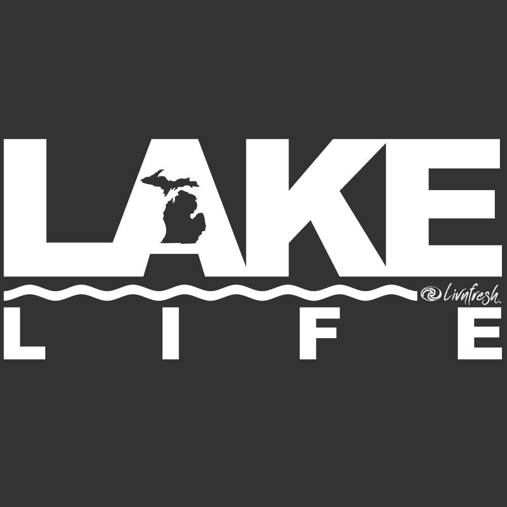 """Michigan Lake Life"" Men's Tailgate Hoodie"