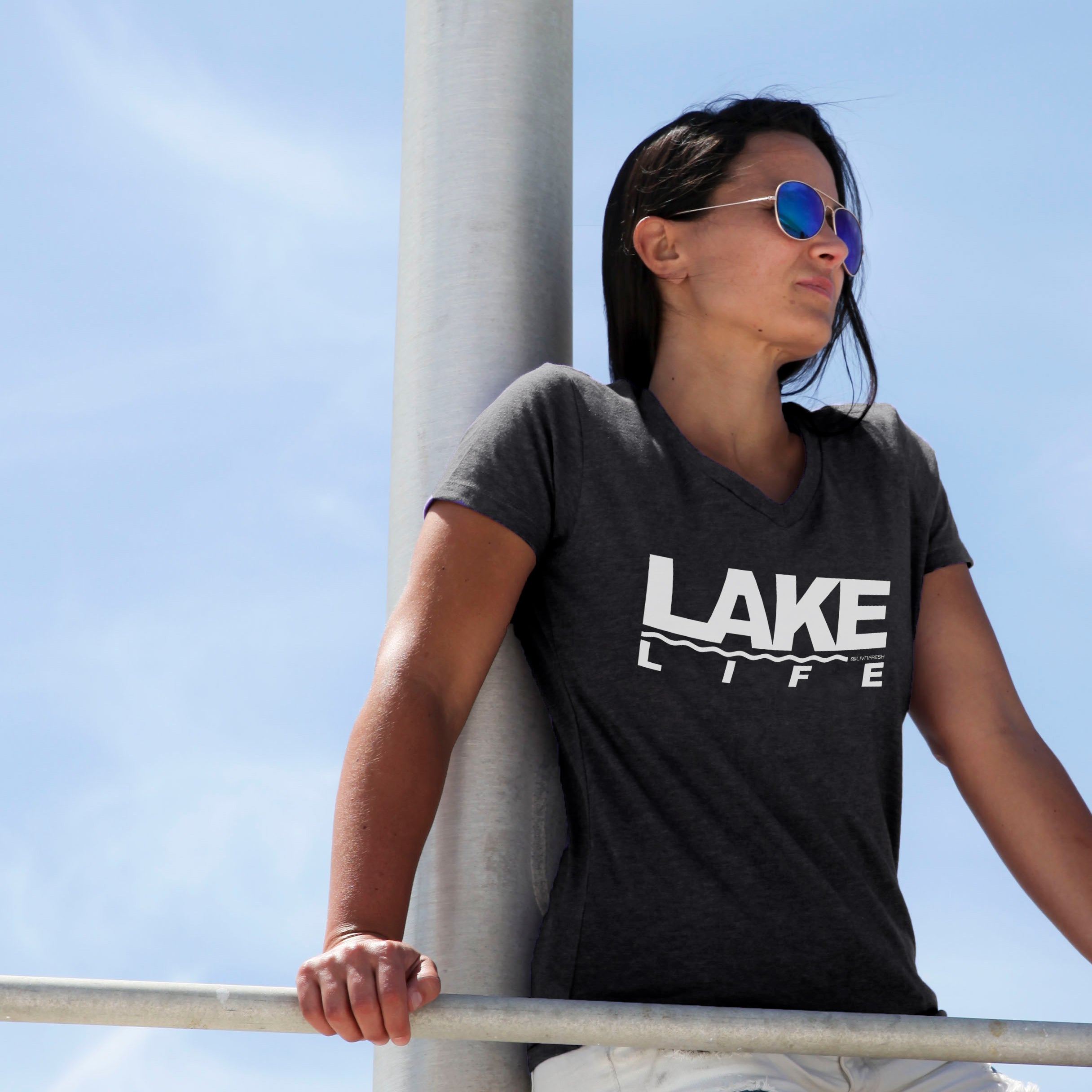 Coast to Coast Lake Life Women's V-Neck