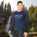 Lake Life WAVES Men's Long Sleeve T-Shirt