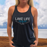 Lake Life WAVES Womens Flowy Tank Top