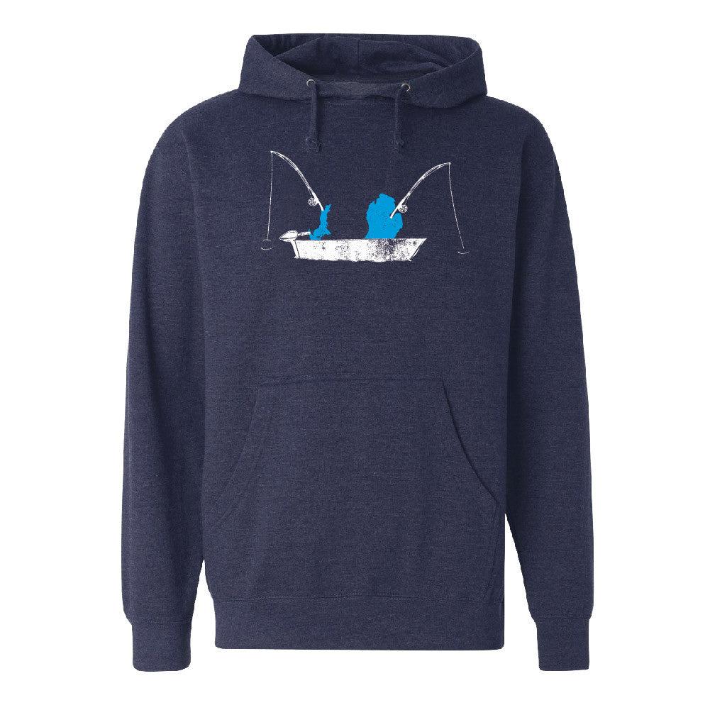 Michigan Fishing Unisex Basic Hoodie