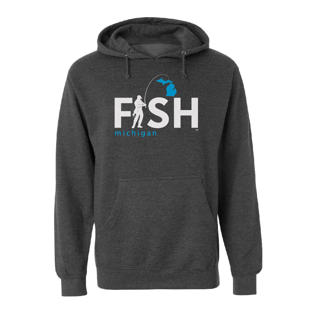 Michigan Fisherman Men's Basic Hoodie
