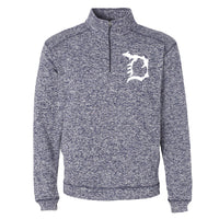 Michigan D Unisex 1/4 Zip Performance Pullover