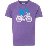 Michigan Bike With Basket Youth T-Shirt