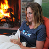 Michigan Campfire Women's V-Neck