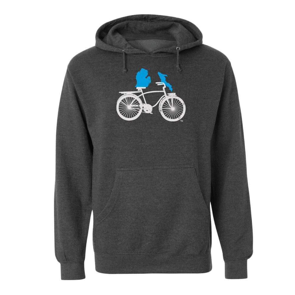 Michigan Cruiser Bike Unisex Basic Hoodie