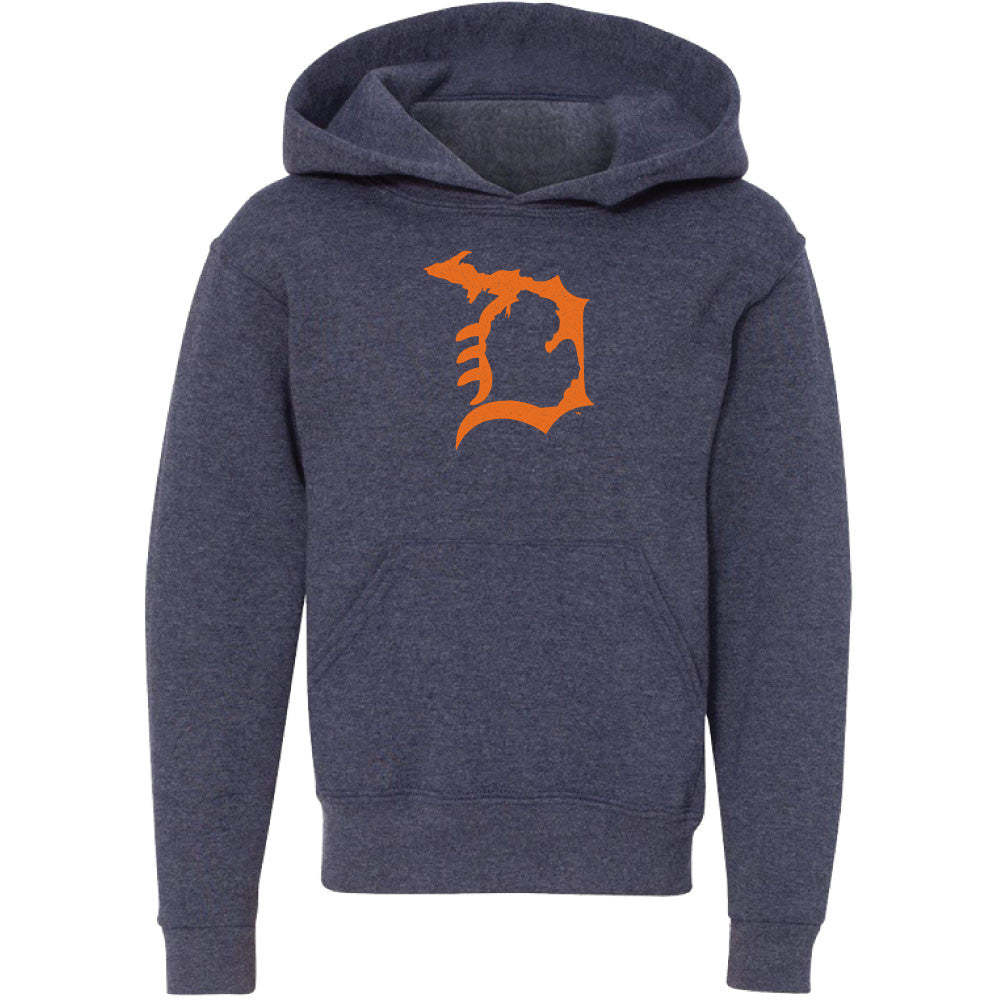 Michigan D Youth Hooded Sweatshirt