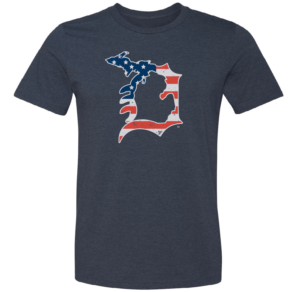 Michigan D Flag Youth T-Shirt