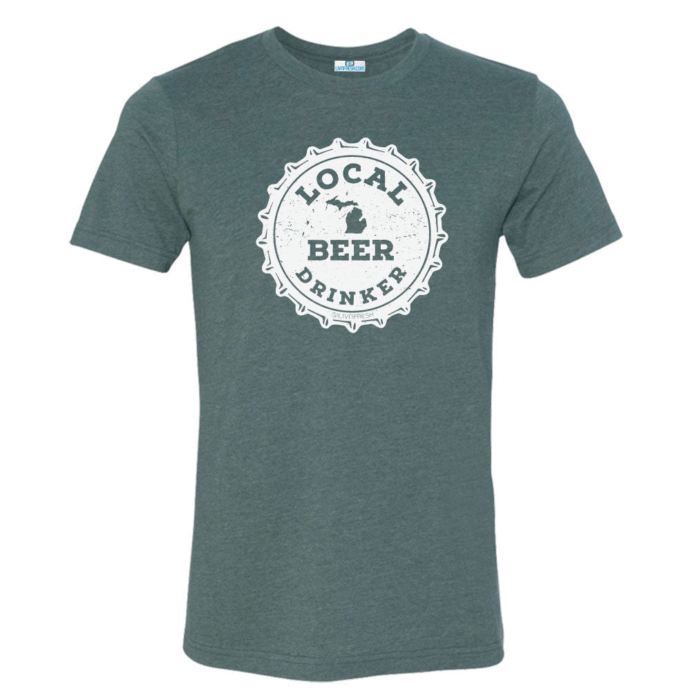 Michigan Drink Local Beer Men's T-Shirts