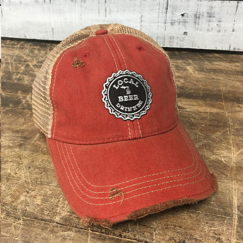 Michigan Drink Local Distressed Hat (Snap Back)