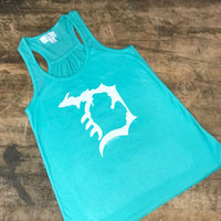 Michigan D Flowy Tank Top