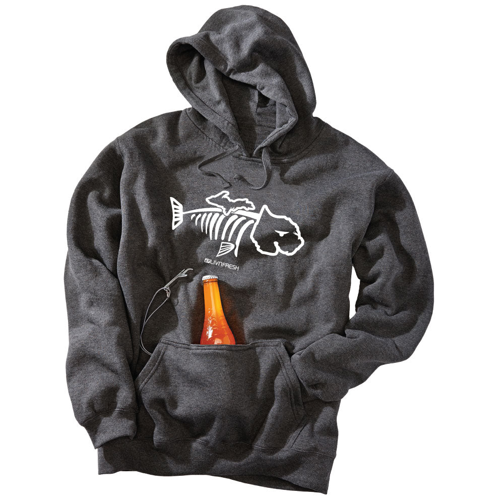 Michigan Bone Fish Men's Tailgate Hoodie