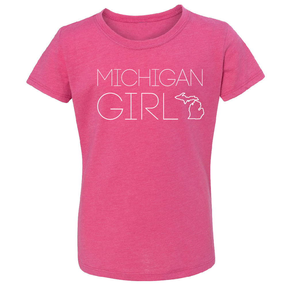 Michigan Girl Youth  T-Shirt