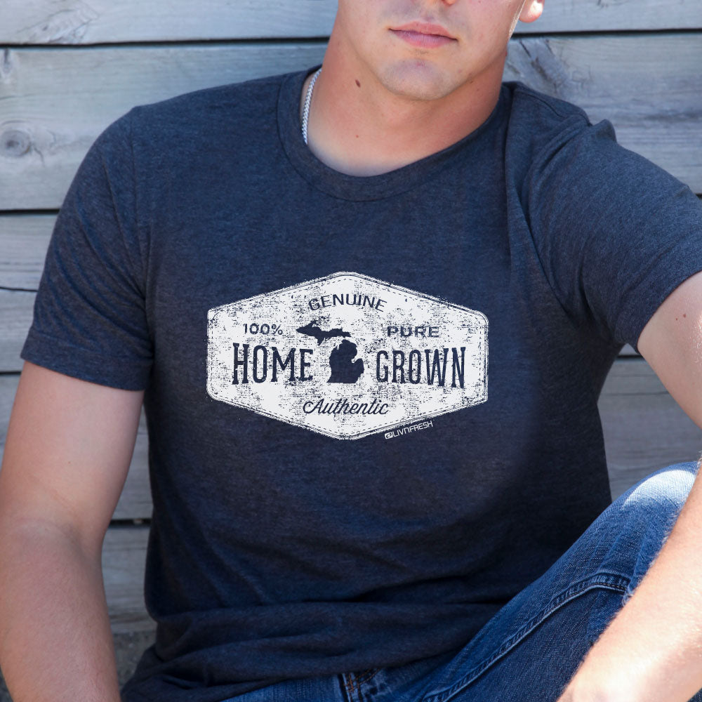 Michigan Home Grown Men's T-Shirt