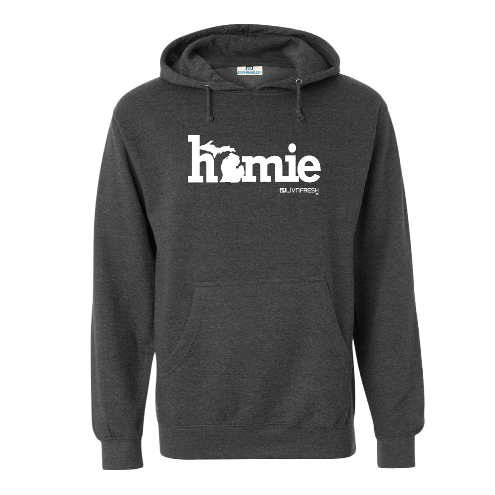 Michigan Homie Men's Basic Hoodie