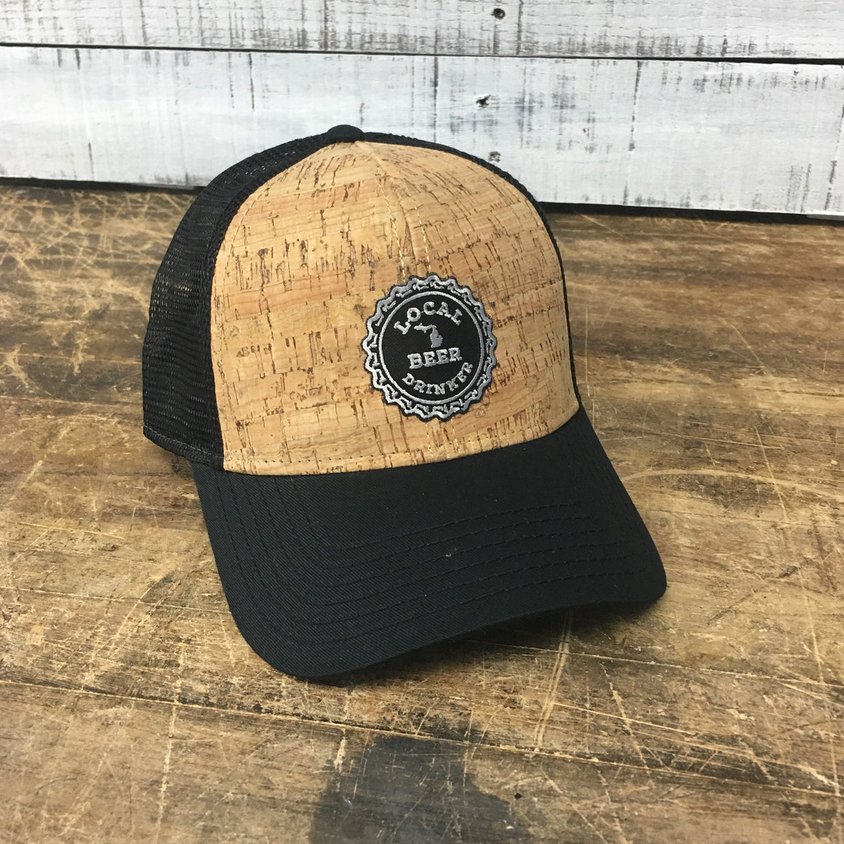 Michigan Drink Local Cork Baseball Cap