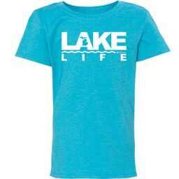Michigan Lake Life Youth Princess T-Shirt