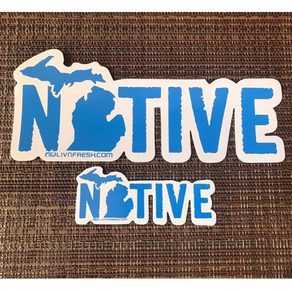 Michigan Native  Decal