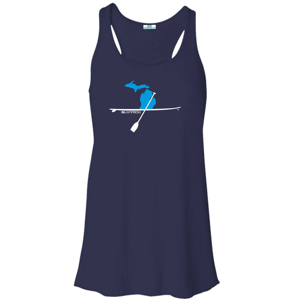 Michigan Paddle Board Women's Flowy Tank Top