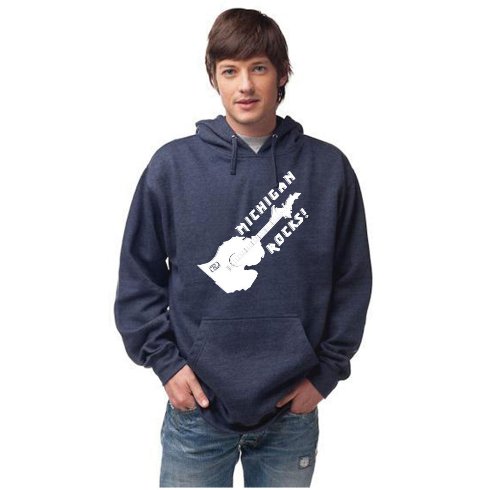 Michigan Rocks Unisex Basic Hoodie