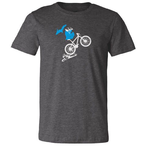 Michigan Mountain Bike Unisex T-Shirt