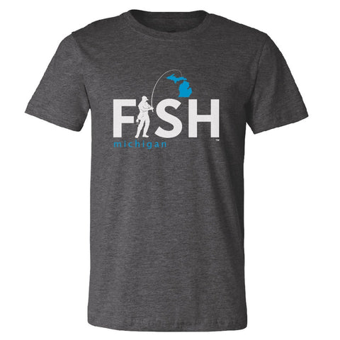 Michigan Fisherman Unisex T-Shirt
