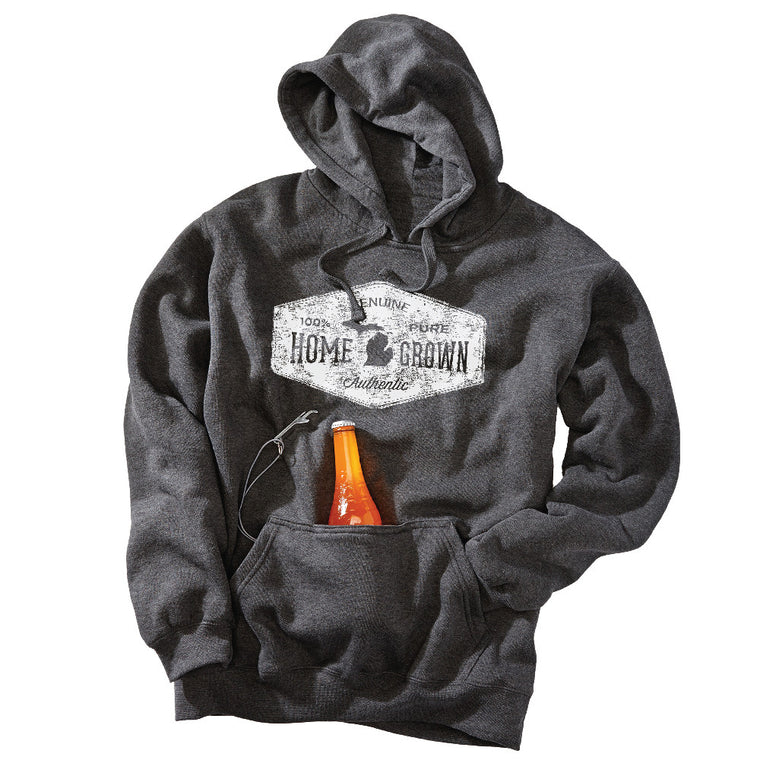 Michigan Home Grown Unisex Tailgate Hoodie