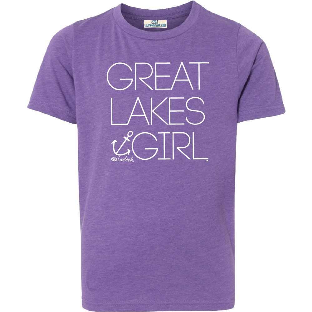Great Lakes Girl Youth T-Shirt