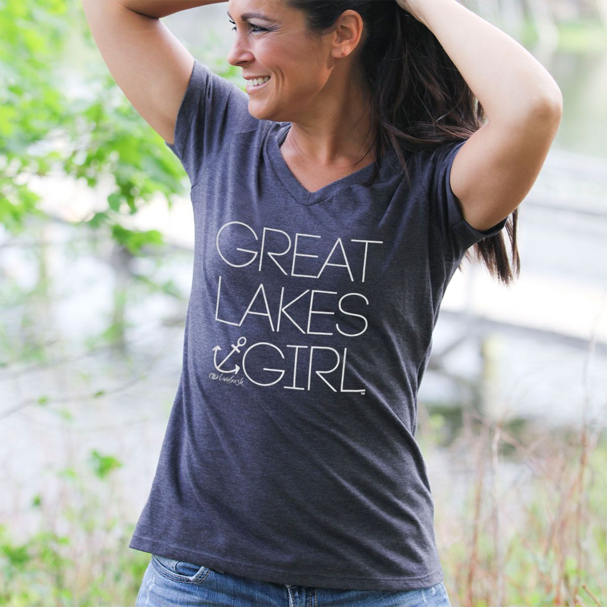 Great Lakes Girl Women's V-Neck