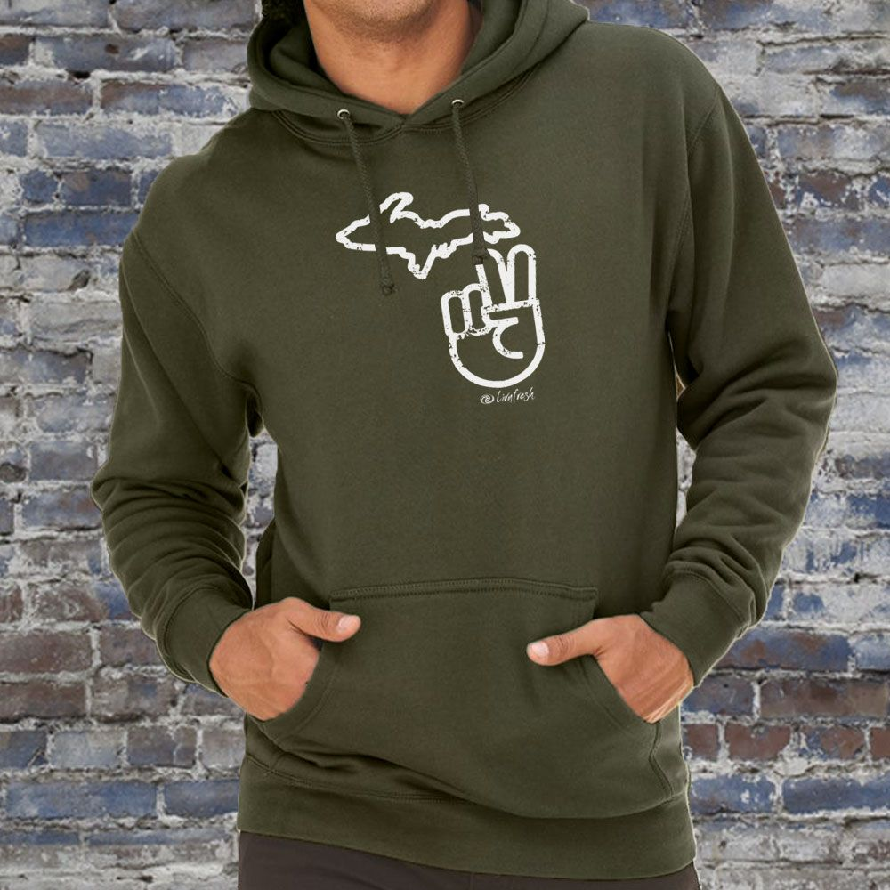 """It's A Michigan Thing"" Men's Hoodie"