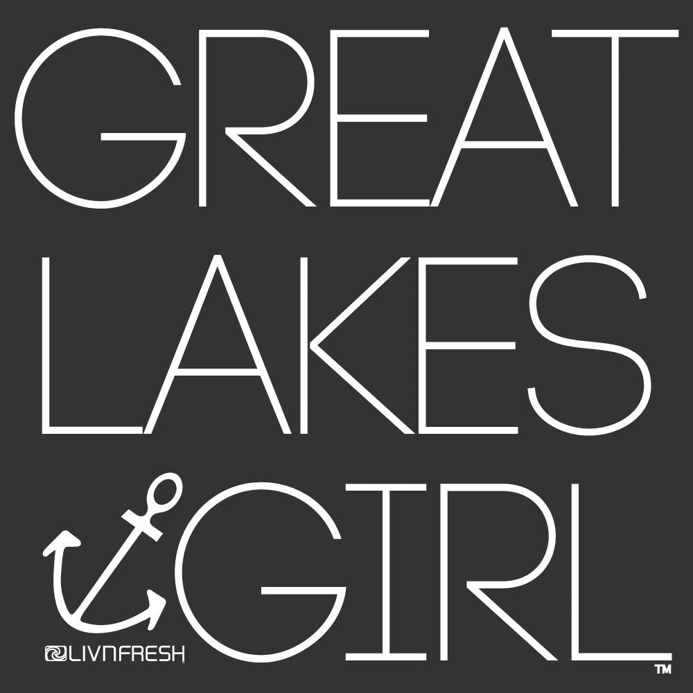 """Great Lakes Girl"" Youth Hoodie"