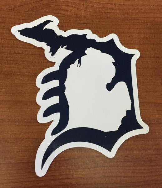 Michigan D Decals