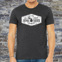 """Michigan Home Grown"" Men's Crew T-Shirt"