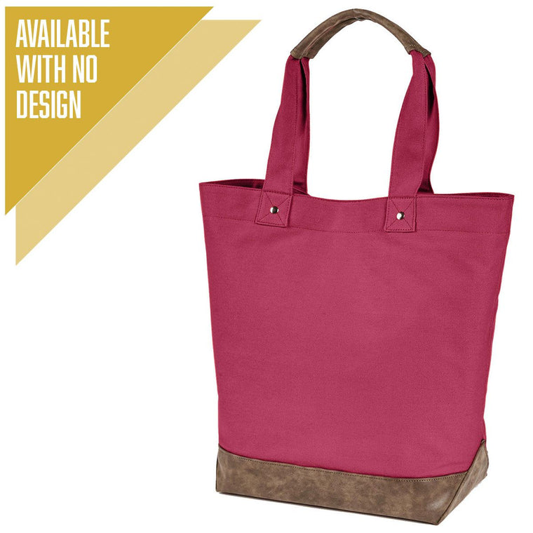 """Livn Simply"" Canvas Tote Bag"