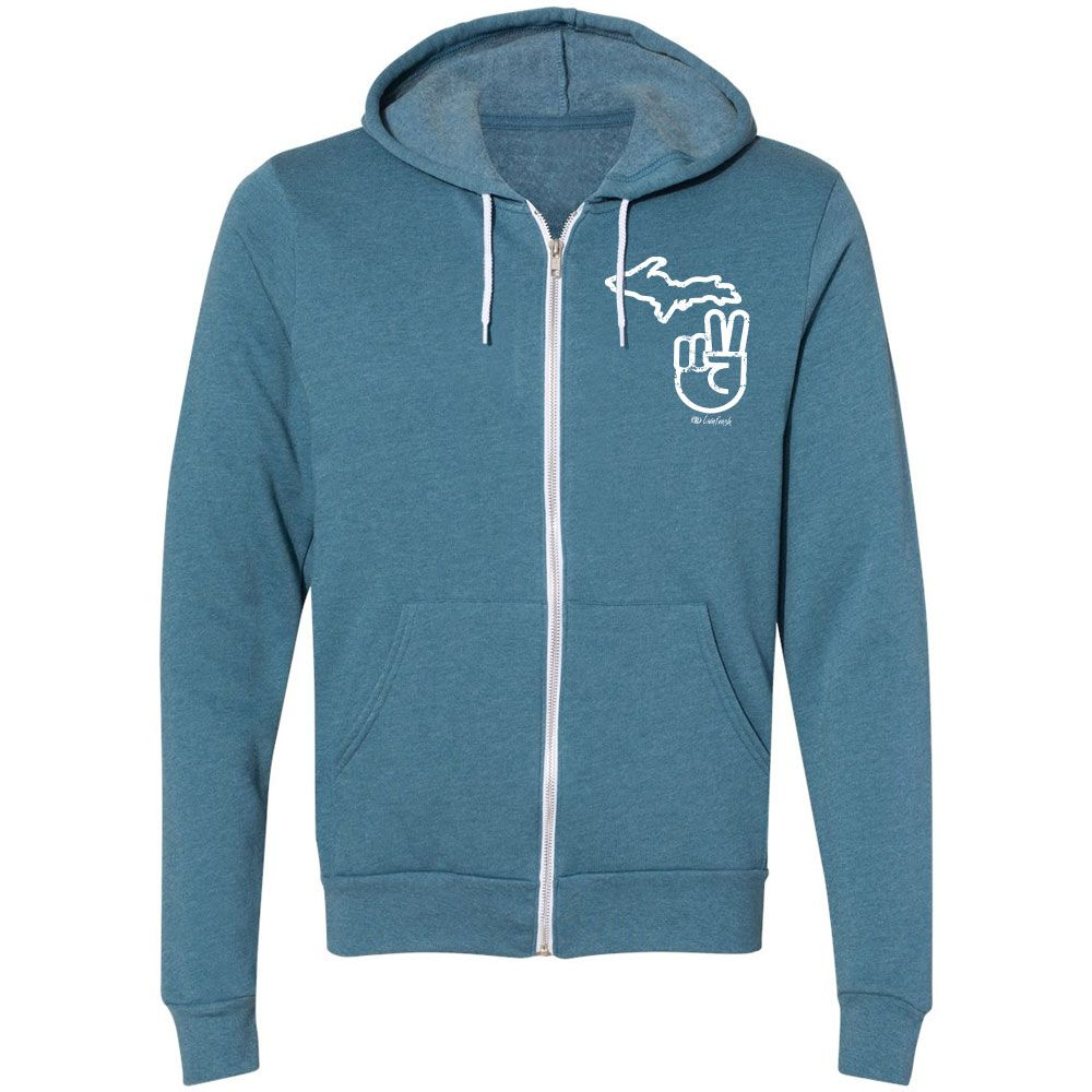 """It's A Michigan Thing"" Boyfriend Full Zip Hoodie"